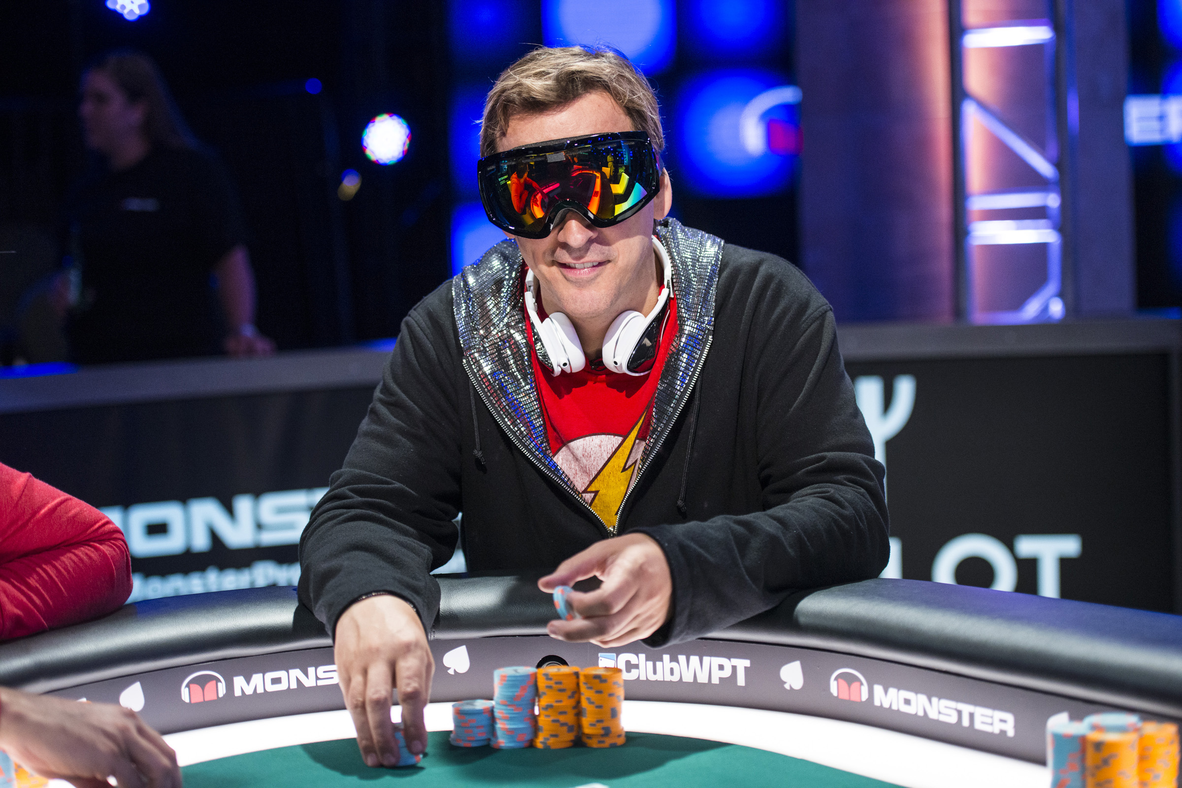 Heart-to-heart: Phil Laak, the great poker eccentric