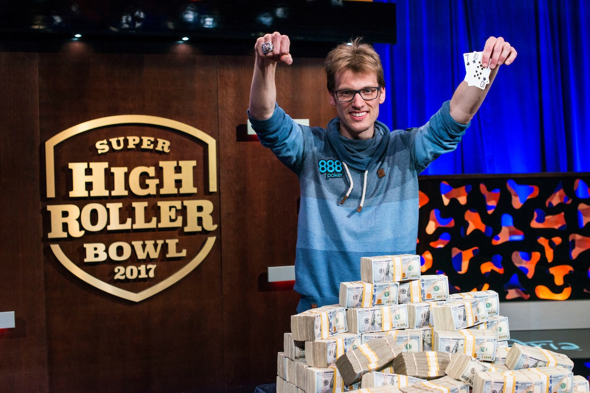 Super High Roller Bowl 2017: Vogelsang won $6,000,000!