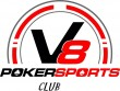 V8 Poker Sports Club logo